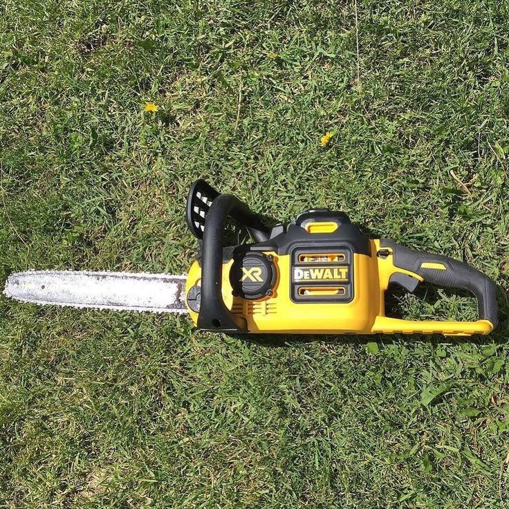 """2,120 Likes, 23 Comments - DEWALT POWER TOOLS (@dewalttough) on Instagram: """"The DEWALT® 40V MAX* Brushless Chainsaw delivers the performance of gas with the convenience of…"""""""