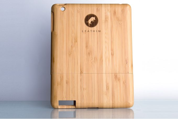 iPad Mini Bamboo Wood Cover by Leathim on hellopretty.co.za
