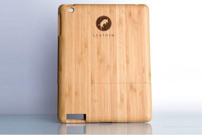 iPad Mini Bamboo Wood Cover by Leathim on hellopretty.co.za
