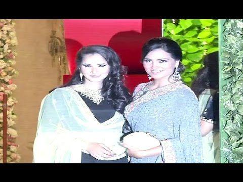 Sania Mirza & Lara Dutta At Mukesh Ambani's Niece's Pre Wedding Party.