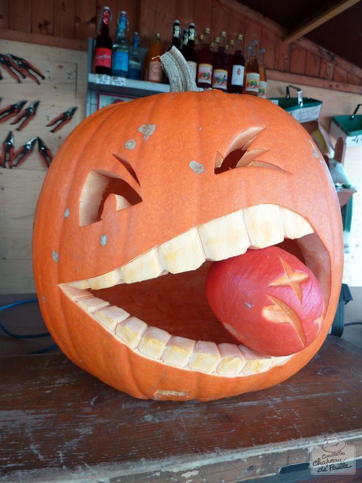 Les 25 meilleures id es de la cat gorie d coration de - Decoration citrouille pour halloween ...