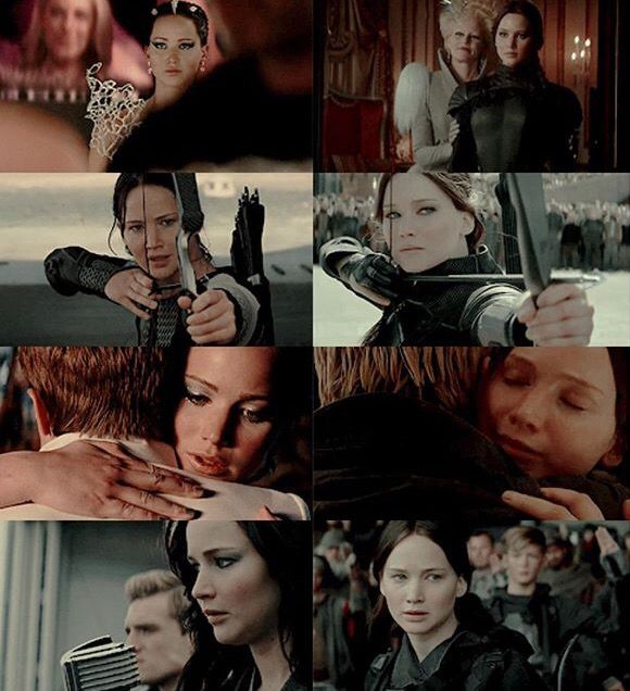 Catching Fire and Mockingjay Part 2 parallels