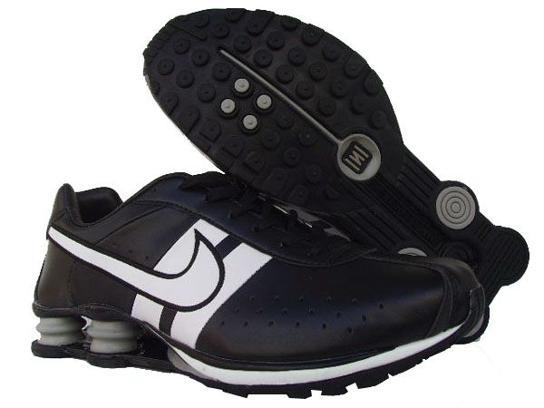 Nike Shox Classic Strap Black White  The shox column set in the midsole give the whole sole a good support. There are many small columns spread over the surface. All the shox columns made from elastic rubber which own a good grip and give its wearer additional protection. Order the nike shox classic shoes, Nike Shox Classic and give your feet a perfect protection.