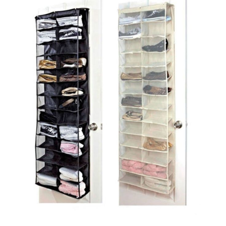 Cheap Shoe Storage Bag, Buy Quality Hanging Storage Bag Directly From China  Storage Bag Suppliers: 26 Pairs Shoes Rack Storage Organizer Over The Door  Shoe ...