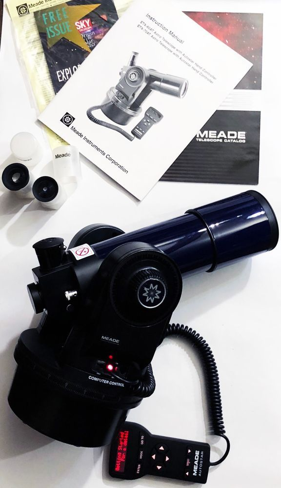 Meade ETX-60AT Digital 60mm Telescope with Autostar Computer