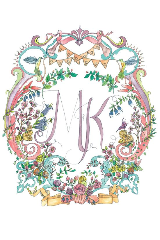 Kathryn Green Illustrated Wedding Invitations