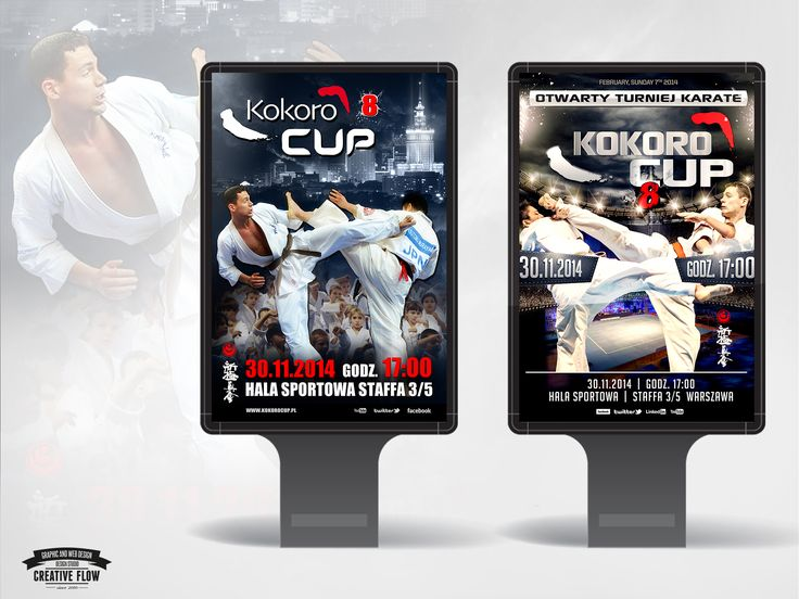 Koncepcje graficzne Kokoro CUP 8. Coming Soon in Warsaw!