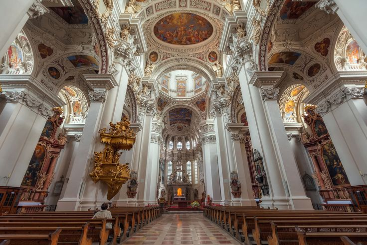 -Germany-St. Stephan's Cathedral in Passau