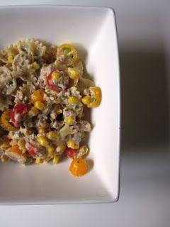 Blog de recettes Weight Watchers Propoint... Ou pas!: Salade pâtes minute - Weight Watchers Propoint