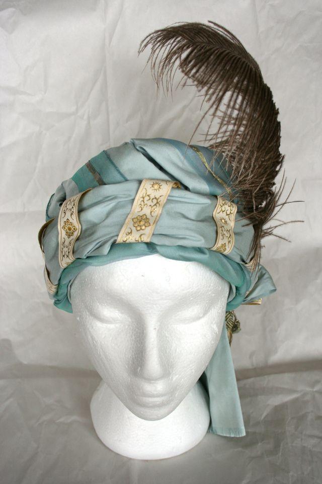 Beautiful turban by The Modern Mantua-Maker