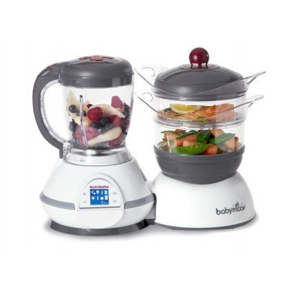 The baby food processor for easy & fresh meals User-friendly…