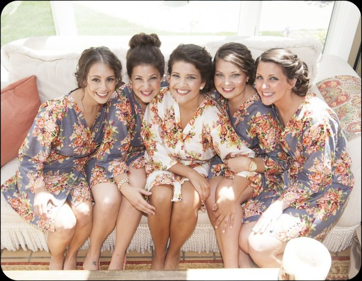 dd5f45a228 Bridesmaids in Robes Other dresses dressesss