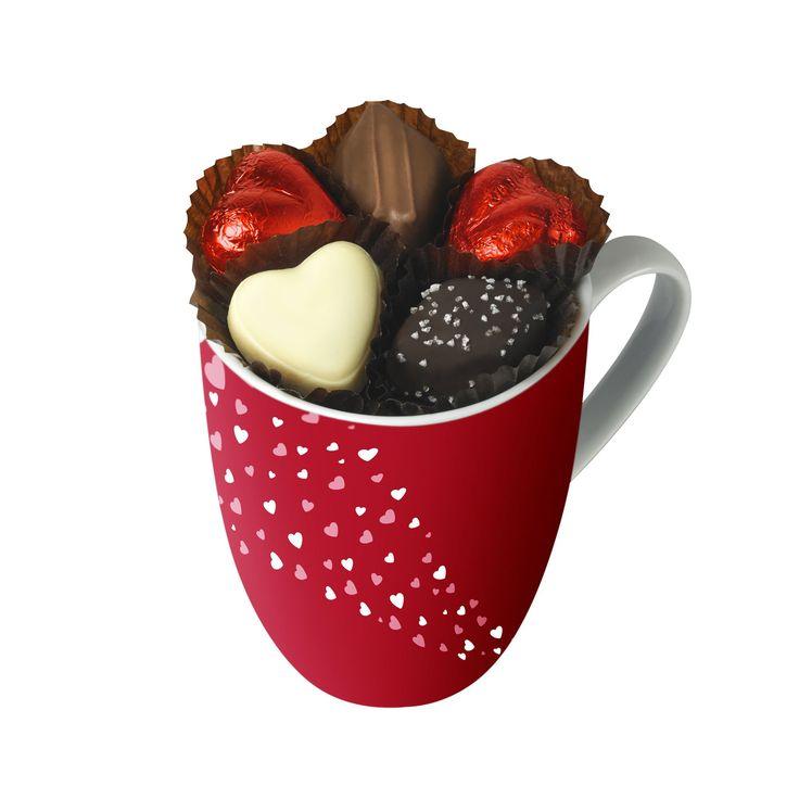 Menu de la Saint-Valentin : un mug garni De Neuville, 15,30€