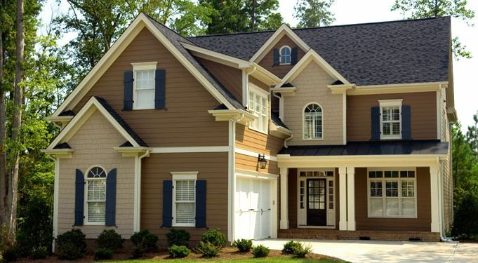 exterior house colors | Exterior Paint Ideas: Unusual Accent Walls and Trim