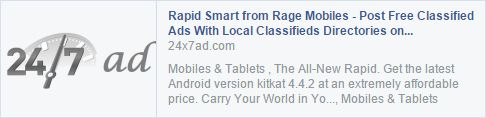 Grab your Rapid Smart now #Rage_Mobiles #SmartMagic_Series  Shop here: http://bit.ly/1wwa5pA