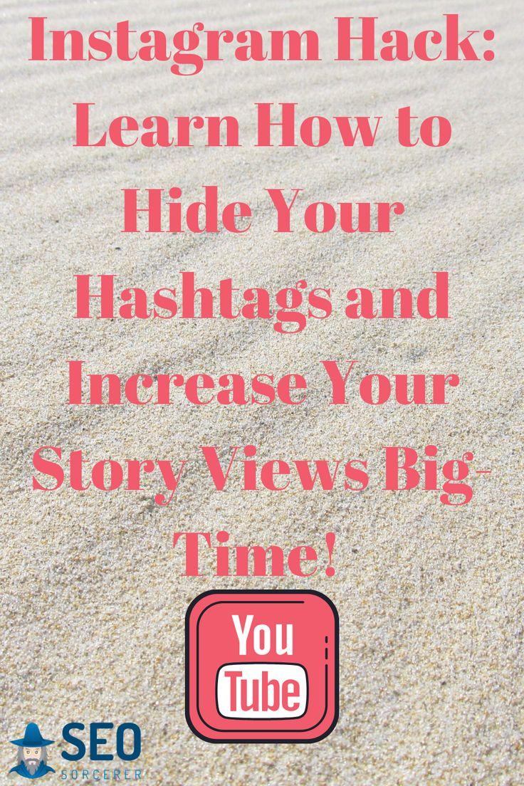 Hide hashtags on instagram stories in 2020 instagram