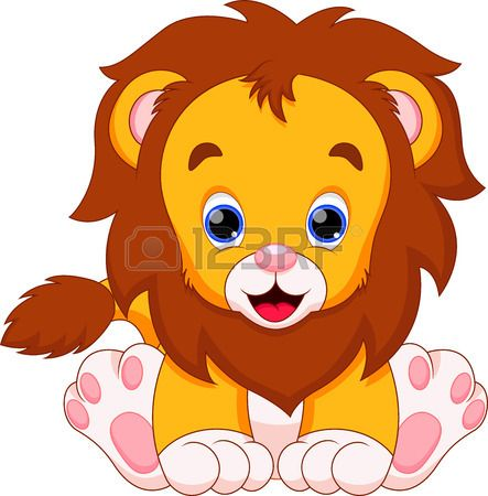 lion baby are cute and adorable
