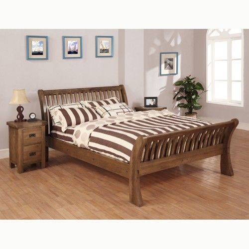 Rustic Oak 6' Bed will transform simple looking home into a to luxurious home. To know more further details visit our website: http://solidwoodfurniture.co/product-details-oak-furnitures-3145-rustic-oak-bed.html