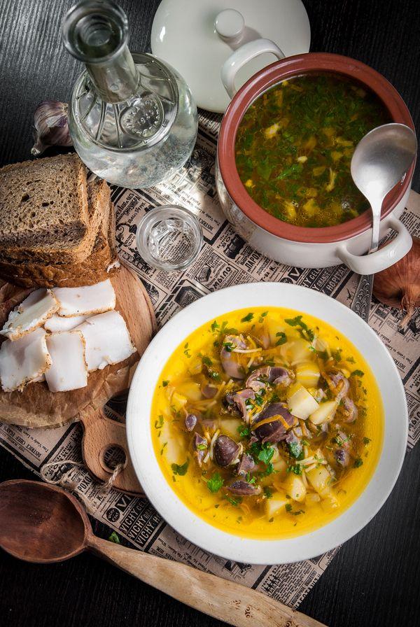 """Суп с потрошками для Глеба Жеглова. """"Литературная кухня"""". Литературная кухня, Бра, рецепт, еда, длиннопост, суп, Место встречи изменить нельзя, из Одессы с морковью"""