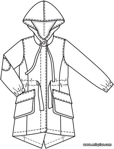 free pattern, парка, куртка, pattern sewing, выкройка парки, капюшон, выкройка…