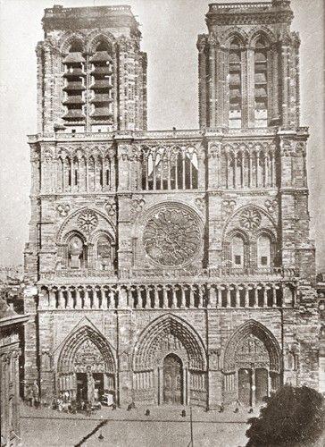 Notre Dame de Paris 1840 - Vincent Chevalier