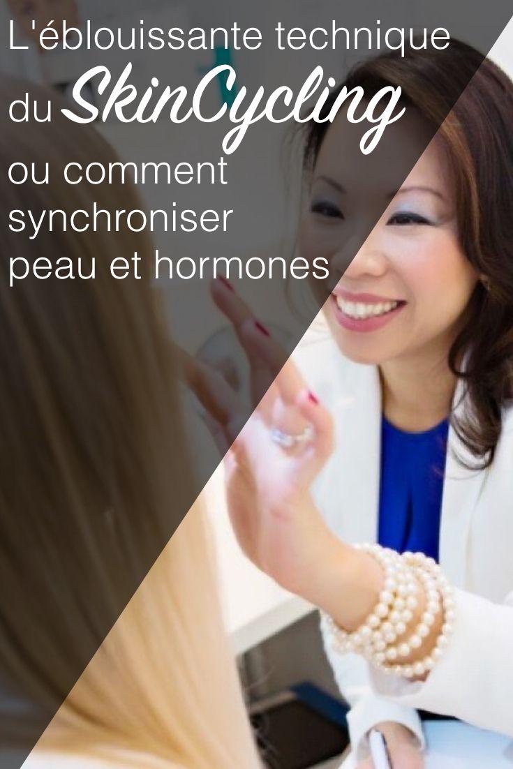 L'éblouissante technique du SkinCycling ou comment synchroniser votre peau et vos hormones via @beaute-pure