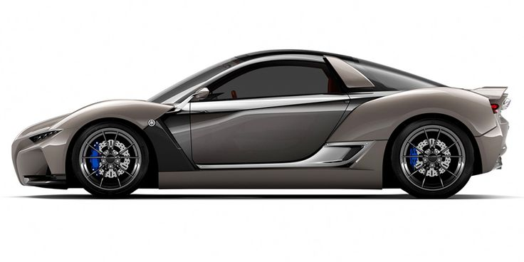 Yamaha's Sports Car Concept Is Basically a Miniature McLaren