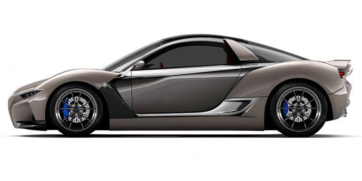 Yamaha's Sports Car Concept Is Basically a Miniature McLaren