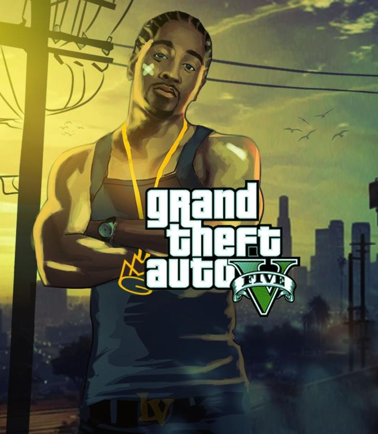 Grand Theft Auto V artwork by Street Hustle.
