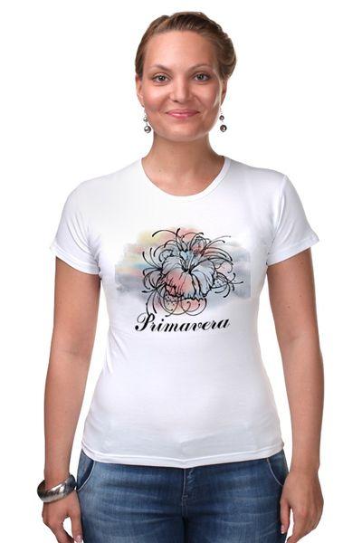 """Футболка Стрэйч (Женская) """"Primavera"""" от theirenemen"""
