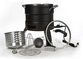 Outdoor Electric Turkey Fryer Roaster – Masterbuilt Oil Free Electric Turkey Fryer