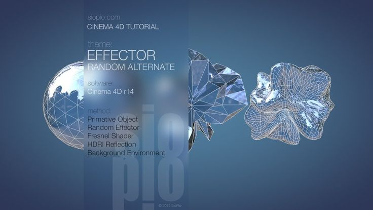 Cinema 4D Tutorial - Alternative Random Effector Trick