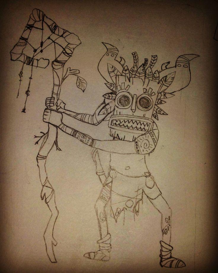 #Tikimask #Tiki #shaman #tribal