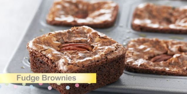Fudge Brownies | Asian Food Channel