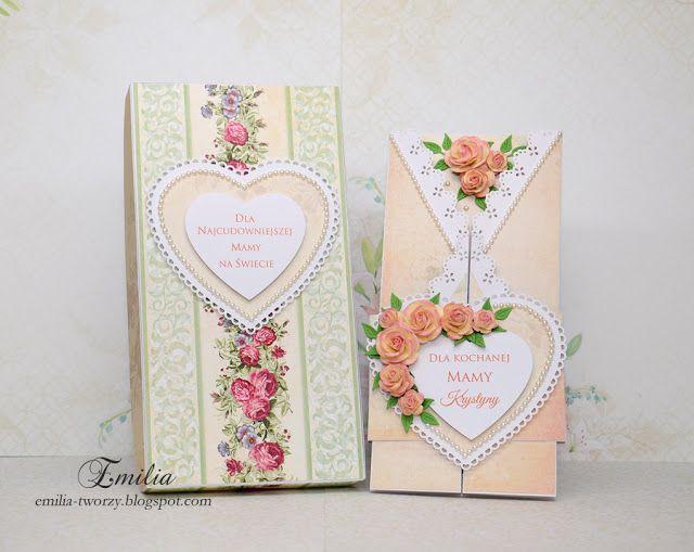 Składaczek na dzień matki/Kartka z okazji dnia matki/Card for mother's day