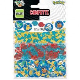 Pokemon Party Supplies, Pokemon Confetti, Value Confetti