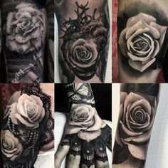Some beautiful black and grey roses from artist @EllenWestholm! #SullenTV #sullenfamily #sullenclothing #TogetherWeRise #sullen #tattooartist #tattoo #ink #art #artdriven #tattoooftheday #inked #bodyart