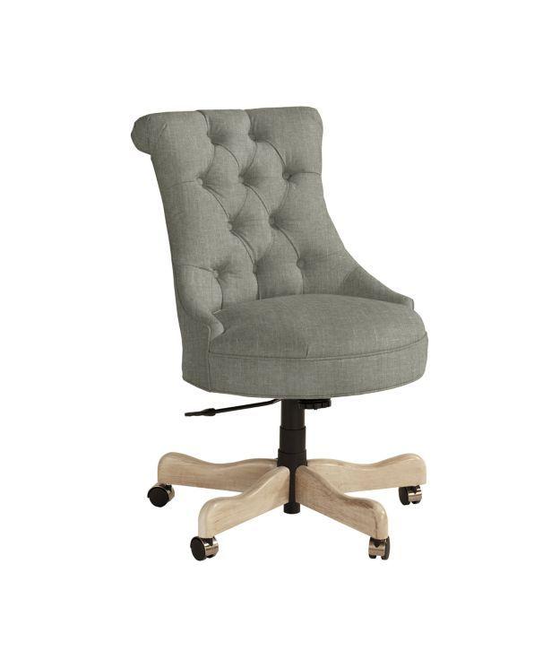 Elle Tufted Desk Chair | Ballard Designs