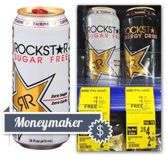 Possible $1.00 Moneymaker on Rockstar Drinks at Walgreens!