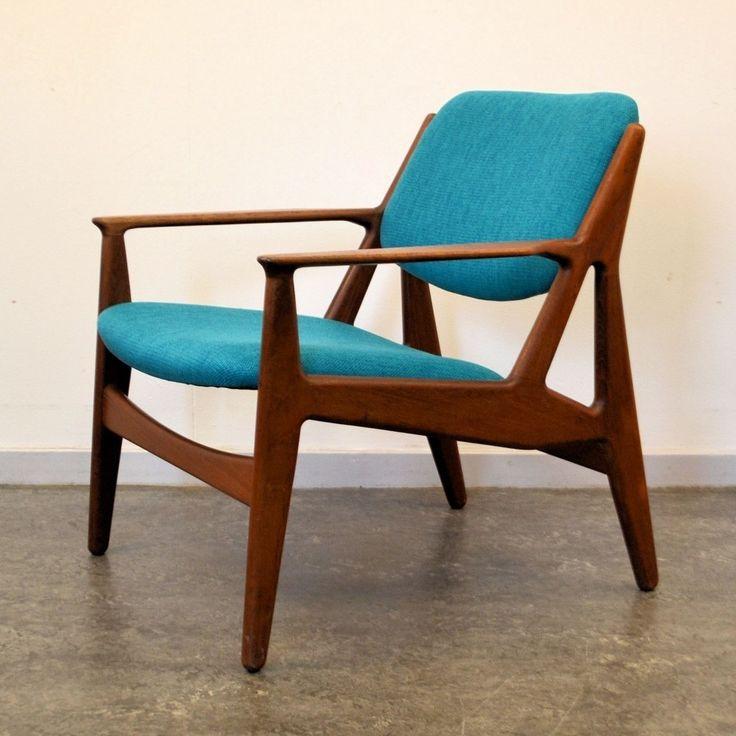 Located using retrostart.com > Lounge Chair by Arne Vodder for Vamo Sønderborg