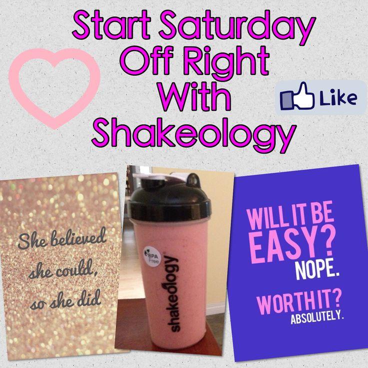 Start Saturday off right