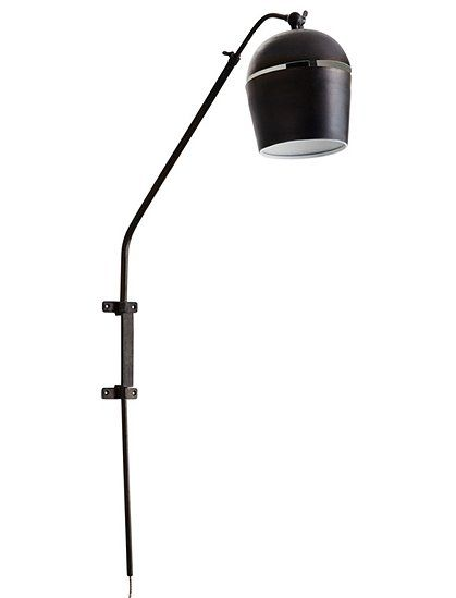 Amazing Wandlampe von MADAM STOLTZ aus Metall sehr dekorativ Wandleuchte mattschwarz Lampe