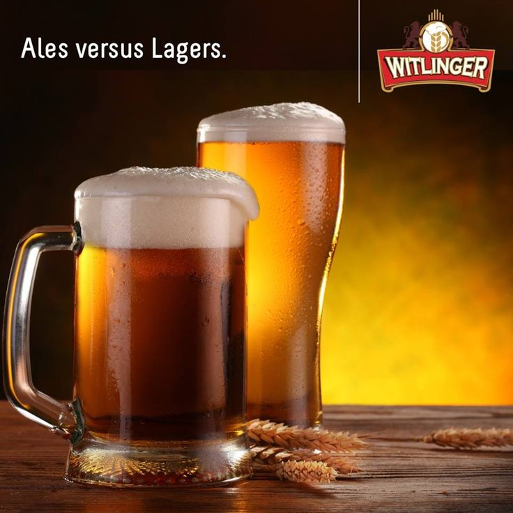 Ales ferment in just couple of days at relatively warm temperatures, while Lagers have to be cold fermented for weeks. #DidYouKnow #BeerFacts #Witlingerbeer #Wheatbeer #Craftbeer