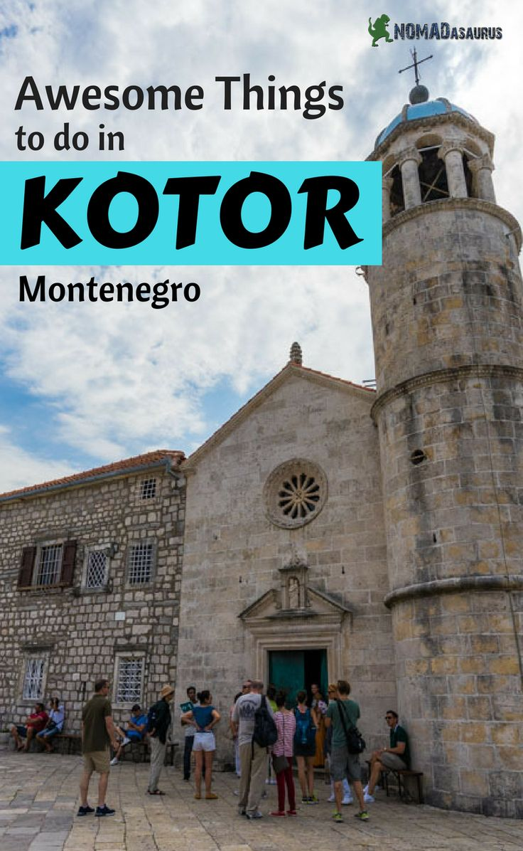 Kotor is a beautiful town located in Montenegro. Add Kotor to your list of place to visit in Eastern Europe. We have made a list for you of things to do in Kotor.