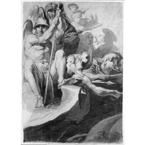 James Barry - Sketch for Elysium