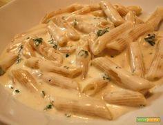 Pasta con crema di gorgonzola #ricette #food #recipes