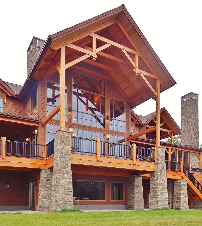 Woodhouse 682 763 pixels timber frames designs for A frame lake house