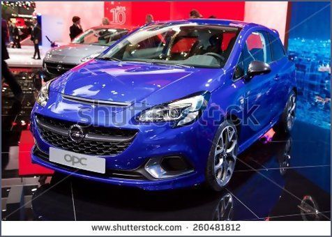 2015 Opel Corsa OPC presented the 85th International Geneva Motor Show on March