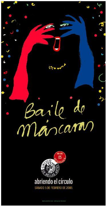 Baile de Máscaras. Círculo de Bellas Artes.  Jacobo Pérez-Enciso