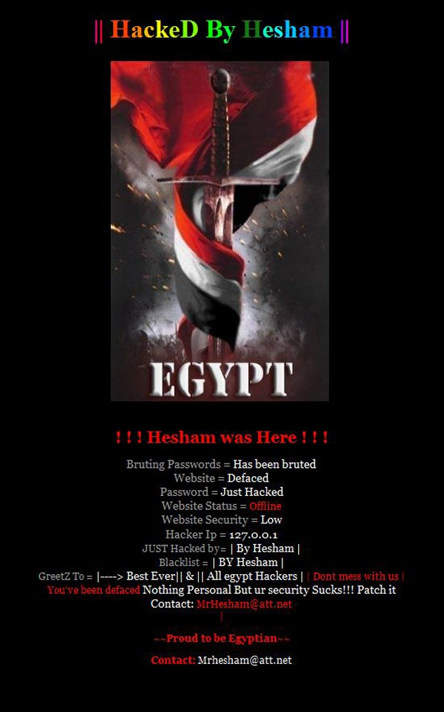 The Himalayan Times; website has been Hacked